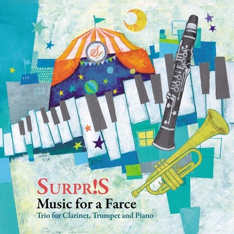 [CD]道化芝居のための音楽 〜クラリネット、トランペットとピアノのためのトリオ〜