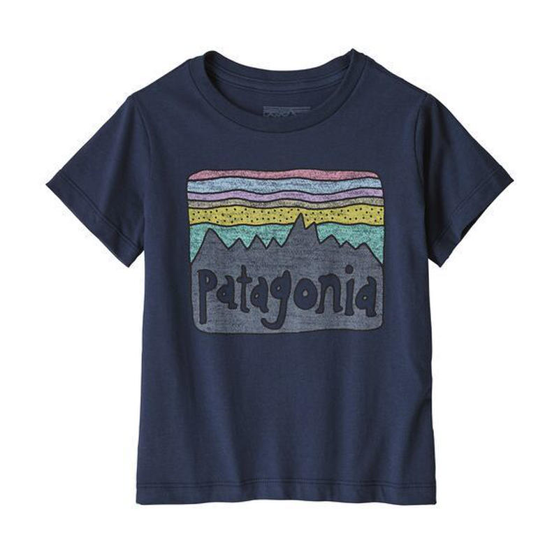 patagonia(パタゴニア) ベビー・フィッツロイ・スカイズ・オーガニック・TシャツNENA [60419]