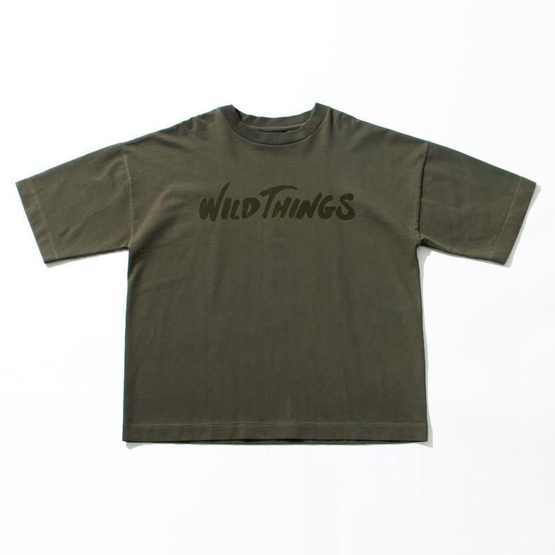 WILD THINGS(ワイルドシングス) S/S FROCKING LOGO リーフ [WT19015N]