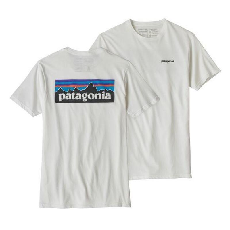 patagonia(パタゴニア) メンズ・P-6ロゴ・オーガニック・Tシャツ WHI [39151]