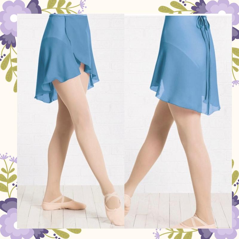 ラップバレエスカート