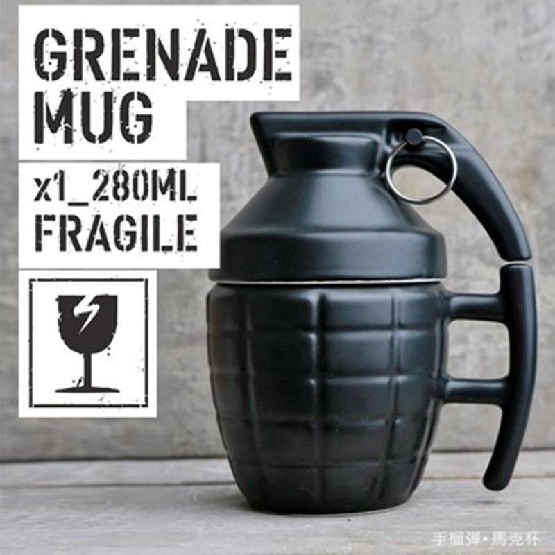 グレネードの形  マグカップ