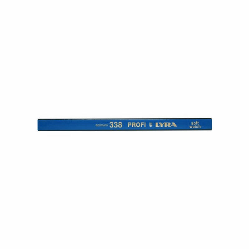 LYRA 338 PROFI Carpenter Pencils  (Soft/Weich)