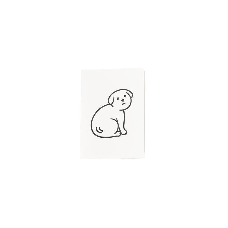 NOT SCARY DOG (NOTEBOOK)