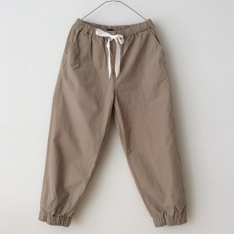 TISSU 裾ゴムパンツ