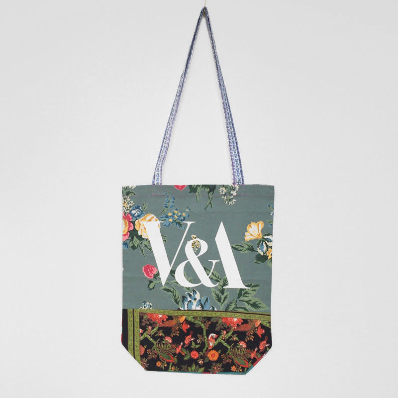 V&A THE FABRIC OF INDIA TOTE BAG/A