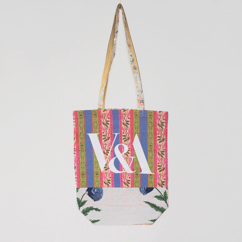 V&A THE FABRIC OF INDIA TOTE BAG/H