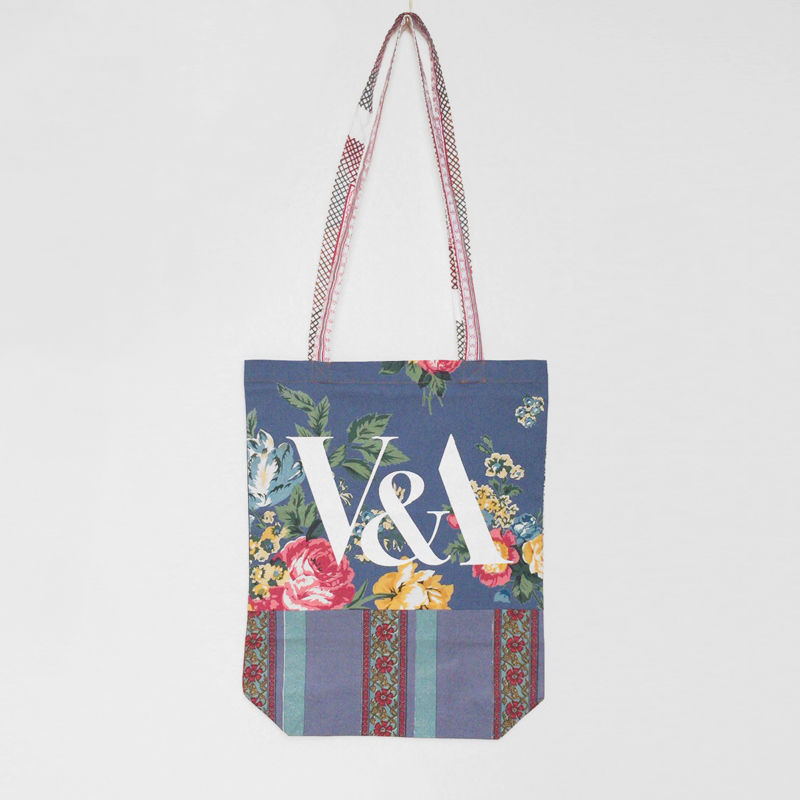 V&A THE FABRIC OF INDIA TOTE BAG/J