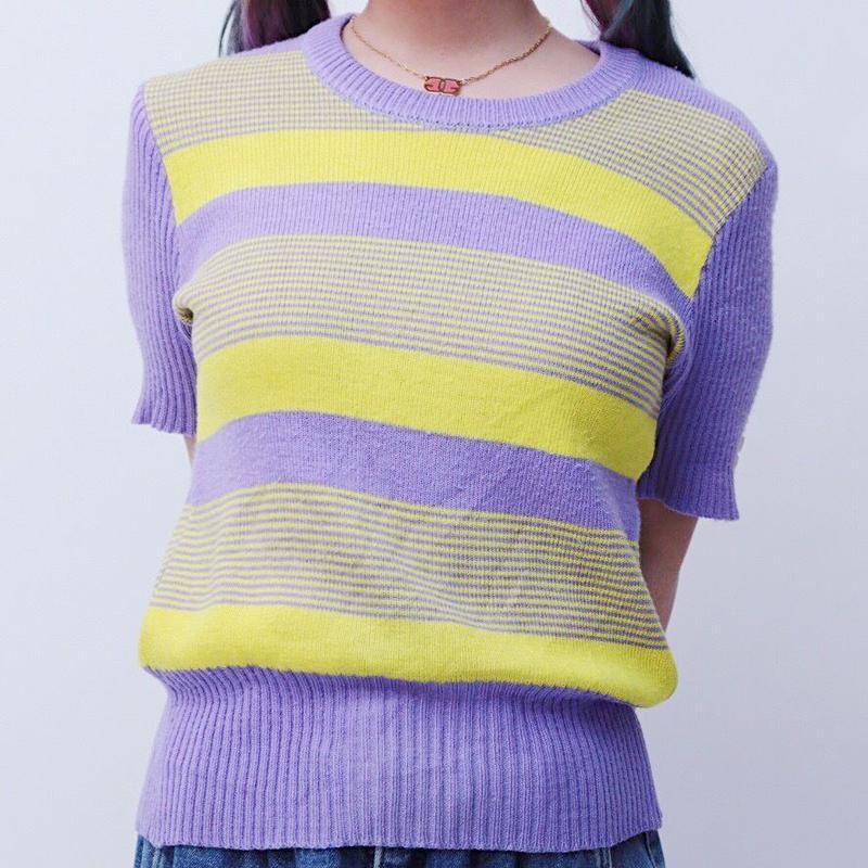 short knit tops
