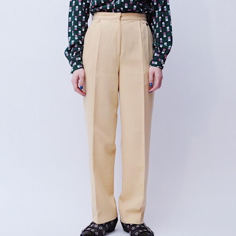 pastnl yellow slacks