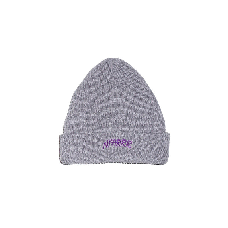 NYARRR logo knit cap ( gray )