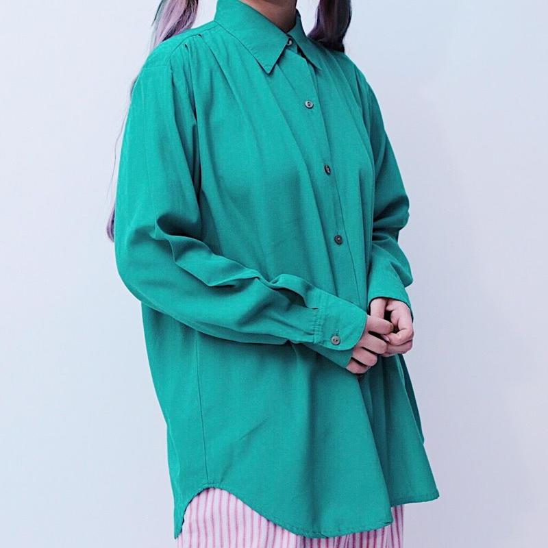 Emerald green shirt