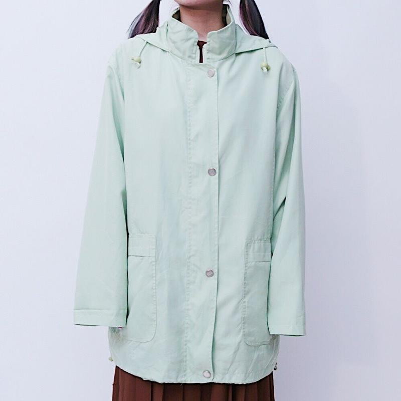 Mint green blouson