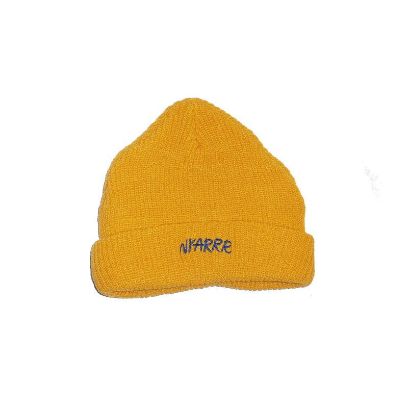 NYARRR logo knit cap ( yellow )