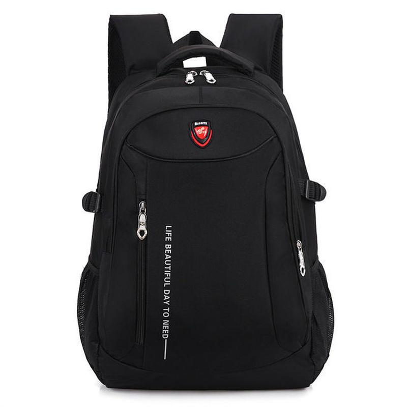 男性防水バックパック ビジネスバッグ 旅行のバックパック 大学生スクールバッグ リュックサック