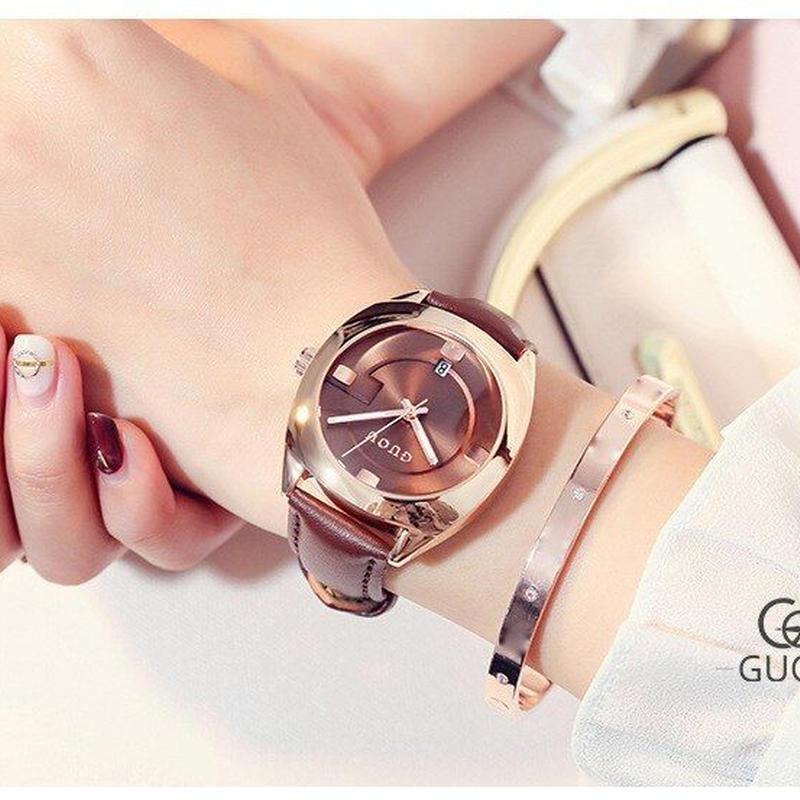 腕時計 女性 高級鋼ブレスレット 女性腕時計