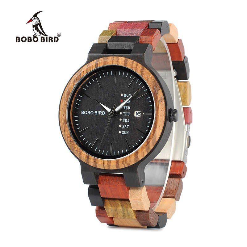 ボボ鳥 腕時計 メンズ 竹木製 男性 ギフト