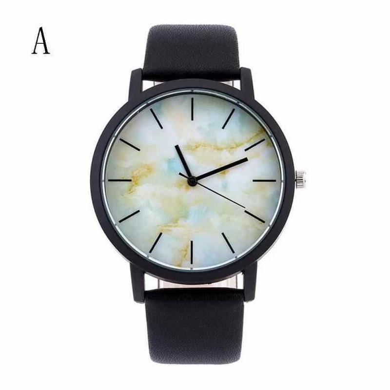 Bajeeta 大理石スタイル クォーツ女性腕時計トップブランド ファッションカジュアルスポーツ腕時計