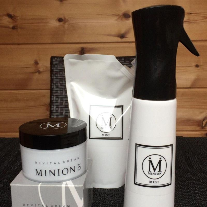 アングレイス福袋/MINION5ミニオンのリバイタルクリーム150g+MINION MIST(ミニオンミスト) )350ml+MINION MIST詰替用(ミニオンミスト /  詰替用 350ml)