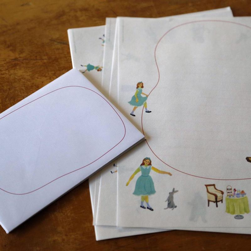 """Letter Set """"Dance Hold"""" / Reiko Matsuo"""