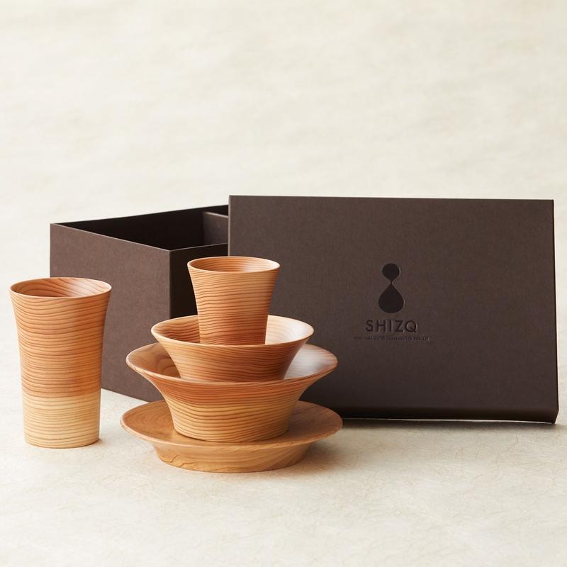 SHIZQ Tsuru Tableware Set