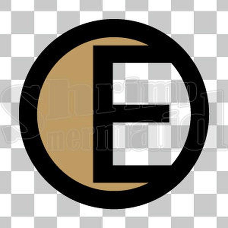 シンプル/色付き黒/png/E