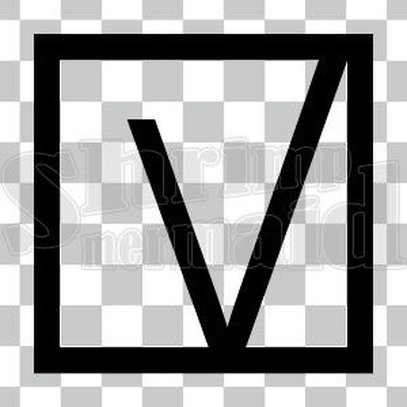 和モダン/黒/png/V