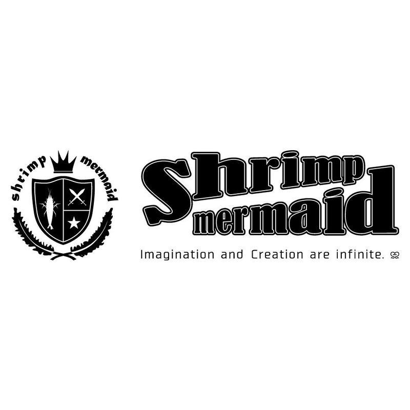 shrimp mermaid/ロゴマーク横/jpg