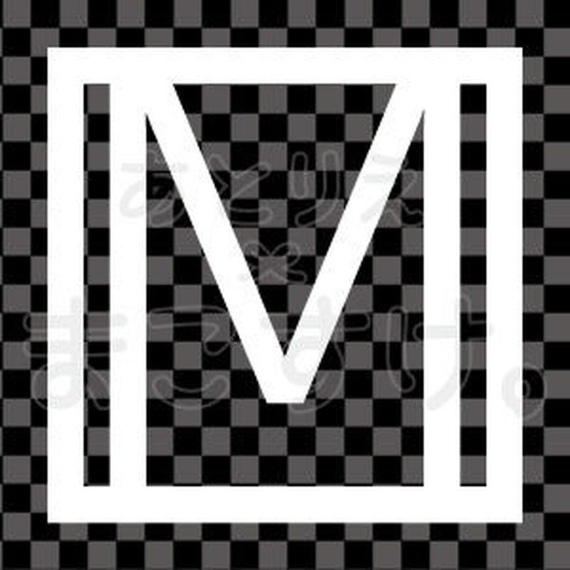 和モダン/白/png/M
