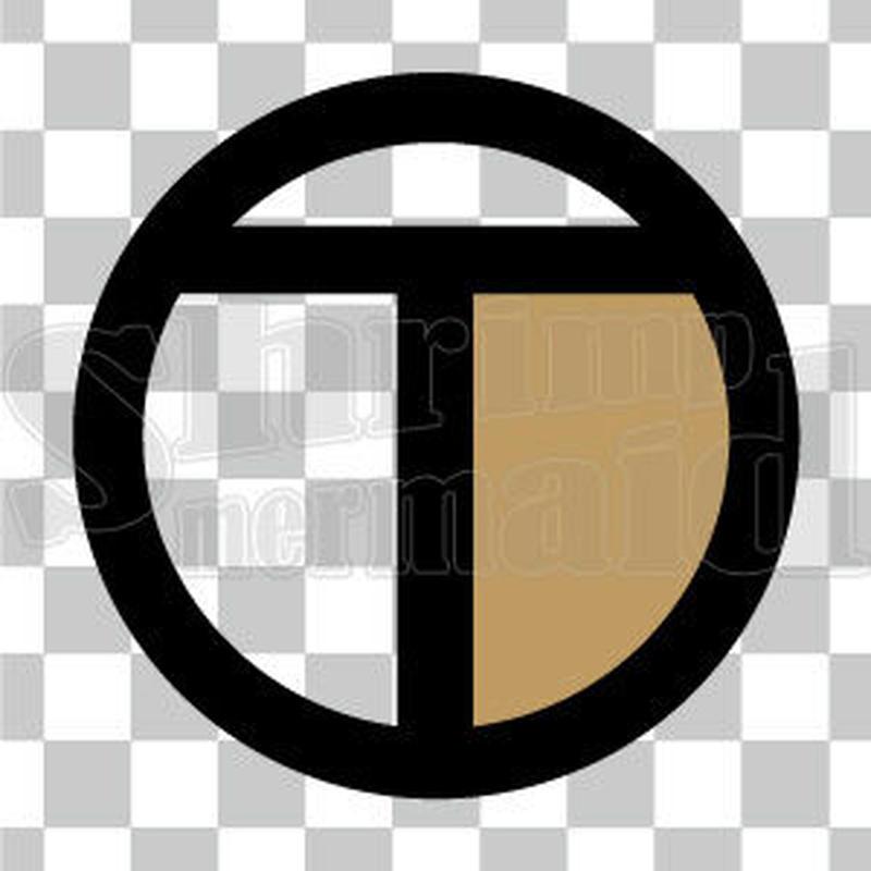 シンプル/色付き黒/png/T