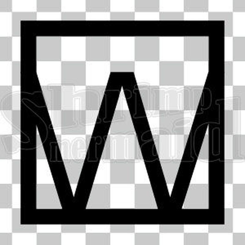和モダン/黒/png/W