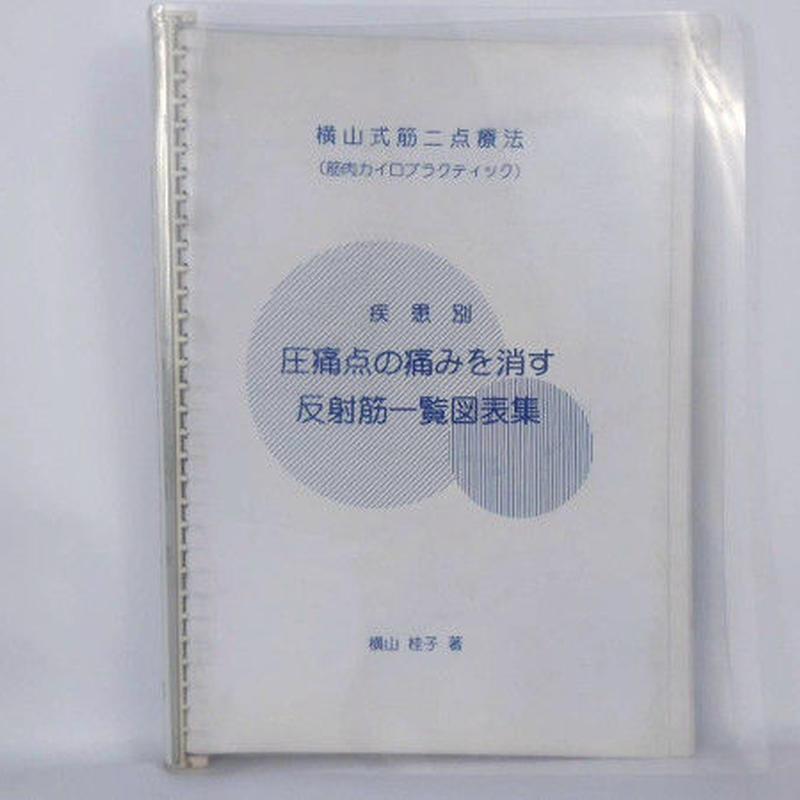 【書籍】横山式筋二点療法 疾患別・圧痛点の痛みを消す反射筋一覧図表集