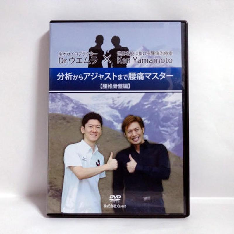 Dr.ウエムラ×Ken Yamamoto 分析からアジャストまで腰痛マスター【腰椎骨盤編】