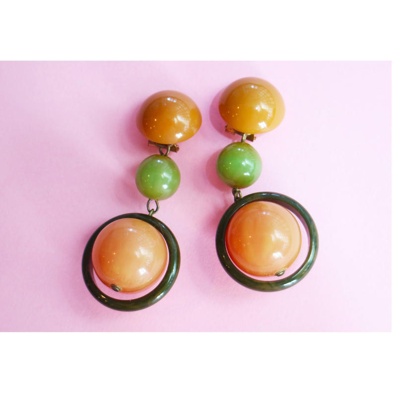 BAKELITE YELLOW×GREEN