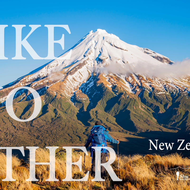 New Zealand Photography Book  No shipping fee