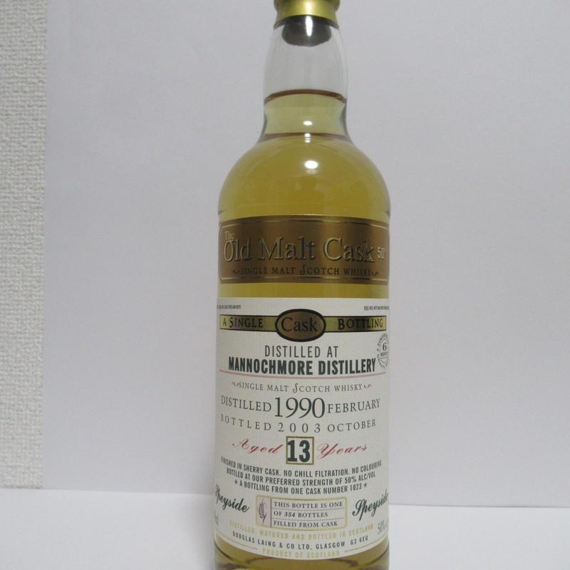 Mannochmore 13year 90-03