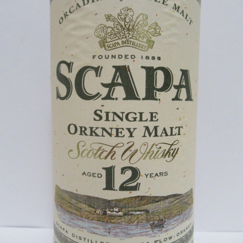 Scapa 12 Year Old  1980-90s - 1L