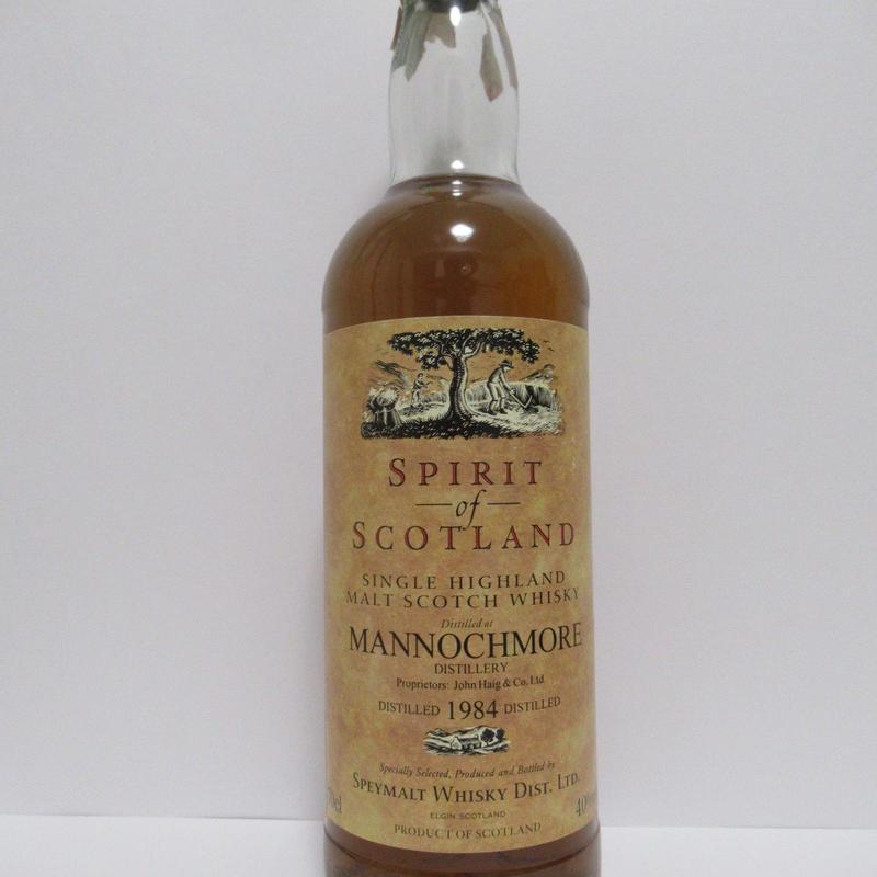 Mannochmore 1984 Spirit of Scotland