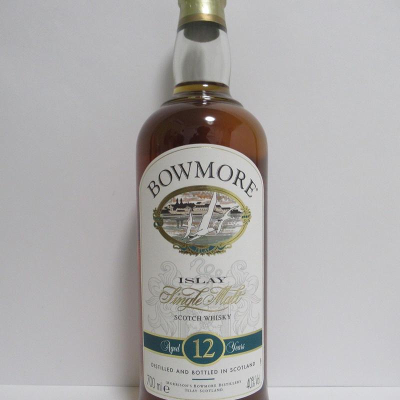 ボウモア12年 90年代流通品 Bowmore 12 Year Old 1990s Release