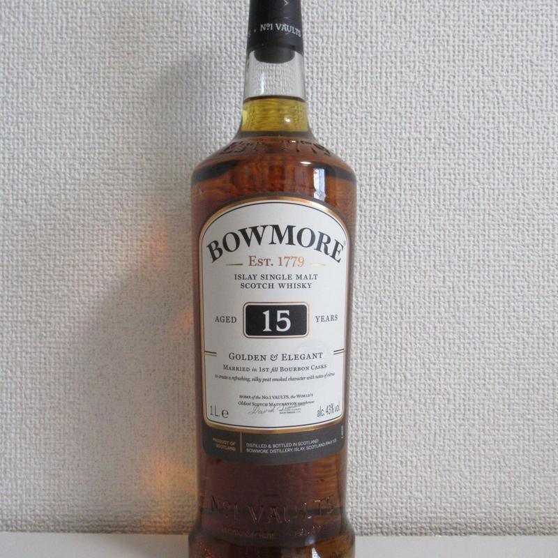 ボウモア15年 免税店向け 1リットルボトル