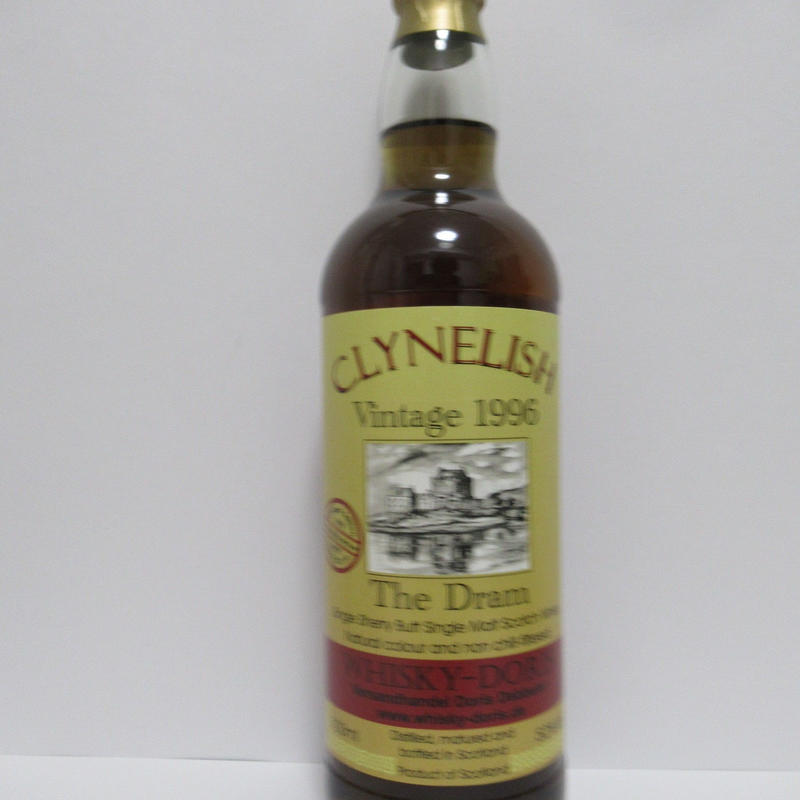 Clynelish 1996 The Dram Whisky-Doris