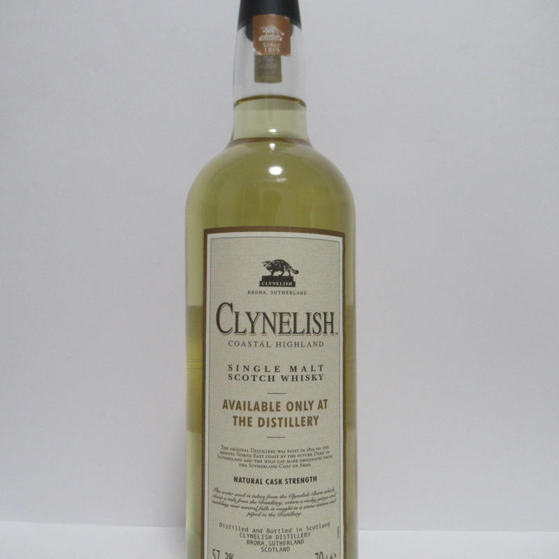 Clynelish Natural Cask Strength Distillery limited