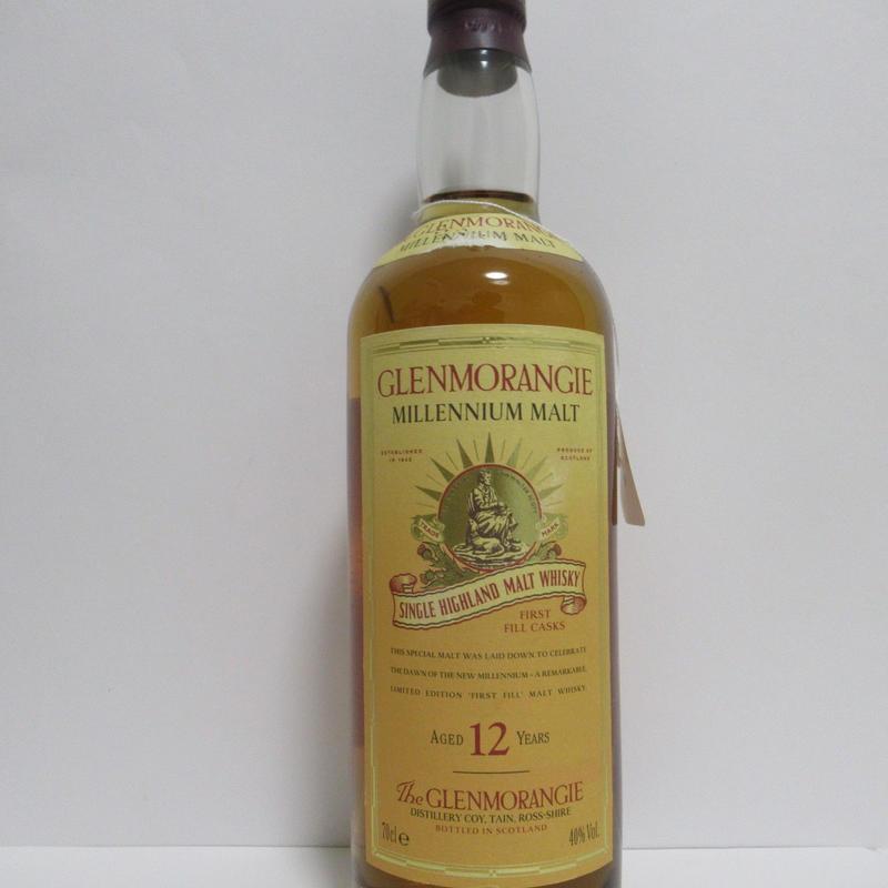 グレンモーレンジィー12年 ミレニアムボトル Glenmorangie 12 Year Old Millennium Malt