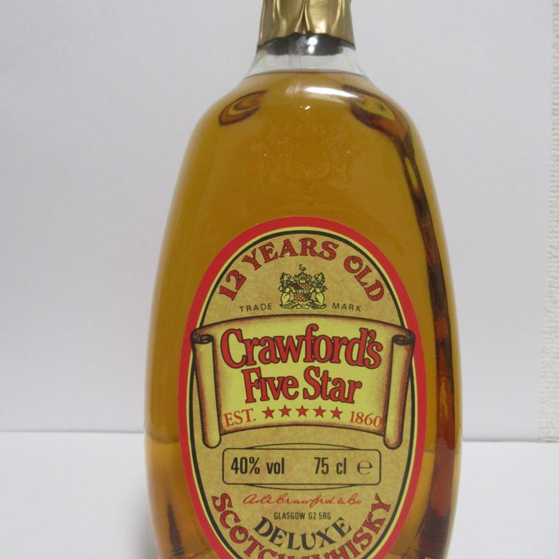 CRAWFORD'S FIVE STAR BLEND 1980'S