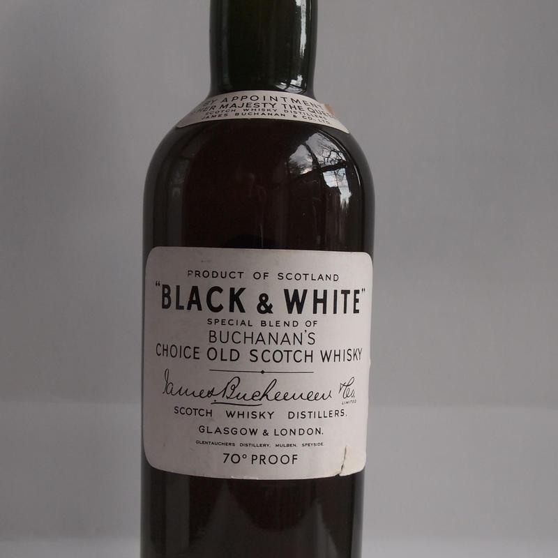 ブラック&ホワイト1950/60年代物 ティンキャップ