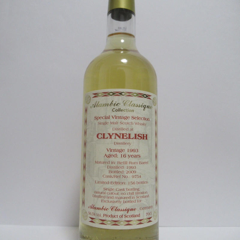 Clynelish 1993 16 Year Alambic Classique Colection