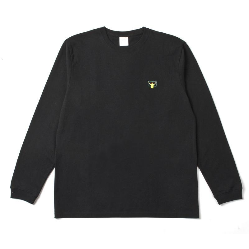 VAR L/S TEE (Black)
