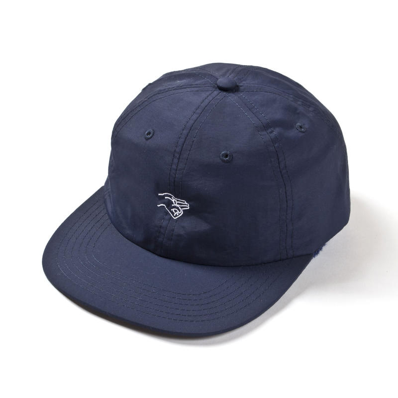 "SHUKYU × CITY BOYS FC /  ""HAND EYE"" CAP (Navy)"