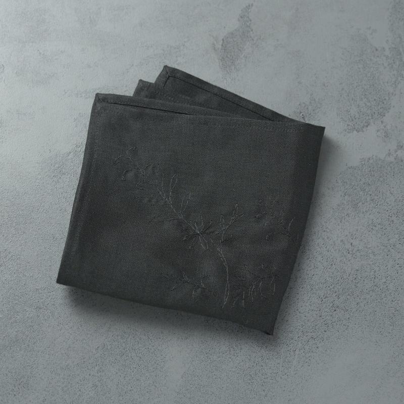shuo16037 shuo × nutel Handkerchief(Black)