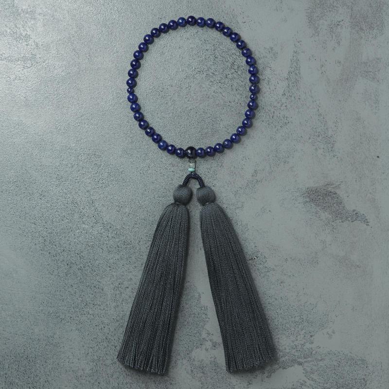 shuo16004 Juzu(Lapis lazuli×Navy) 女性用